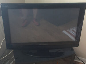 Vision quest tv works great -no remote flat screen