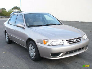 2001 Toyota Corolla Ce Other
