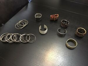 Bangles for sale including Coach and Tiffany