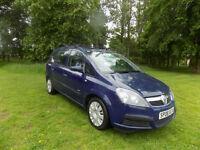 2008 08 reg Vauxhall Zafira 1.6i 16v Lifempv netherton cars