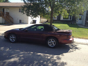 2002 FIREBIRD  COLLECTOR CONVERTIBLE LOW MILES