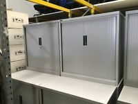 Tambour cabinets metal