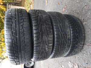 Volvo Winter Tires 195/60R15 REDUCED $200