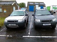 Land Rover Freelander TD4 (pair of them)