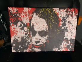 "Heath Ledger ""Joker"" canvas"