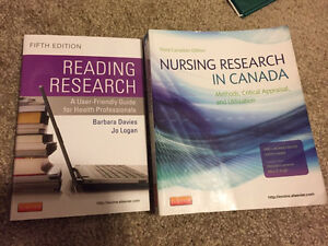 Nursing Research: 2 books for $40