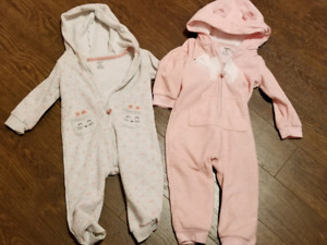 18 month girls body suits