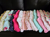Girls 3-6 month clothes lot