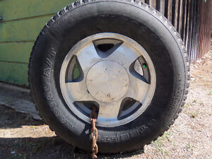 GMC 16 inch 6 bolt With 245 75 tires