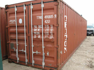 20' - 40' SEA STORAGE / SHIPPING CONTAINERS FOR SALE!! Belleville Belleville Area image 3