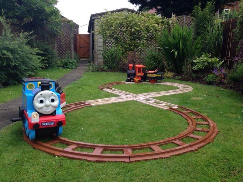 Toddler Sofas Two Peg Perego Ride on Trains Thomas Tank + Orient + Track ...