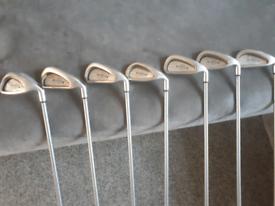 Callaway x14 steelhead golf clubs