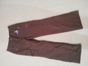 Women's lined brown winter pants Size Small New with tags London Ontario image 7