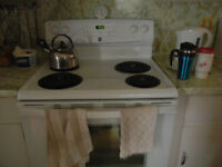 "Kenmore 30"" electric self clean stove"