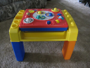 Fisher Price musical tablet and stand