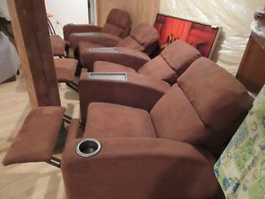 La-Z-Boy Cinema Maison Inclinable - Home Theater Reclining Seats West Island Greater Montréal image 2