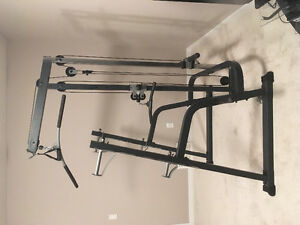 Bench press/ squat rack- Olympic weight