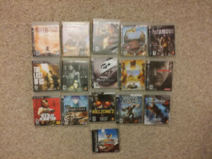 15 PS3 Games @ $5 each