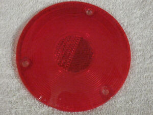 New 1957 - 1960 Ford Mercury pick up truck tail light lens NOS