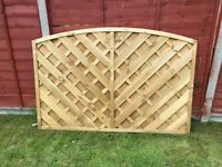 Fence panels x 10 Half Price!
