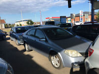 2004/54 Nissan Primera 1.8 SE 5 Door Hatchback Blue