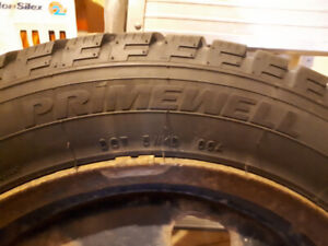 Winter tires and rims. Set of 4.