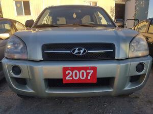 2007 Hyundai Tucson GLS SUV, Crossover Accident free