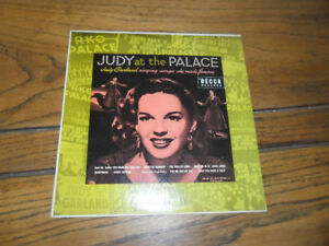 Rare Judy Garland vinyl record over the rainbow