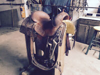 "Custom ""Bob's Saddle"" Bob Avila Working Cow Horse Saddle"