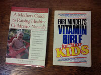 2 Books on Natural Child-Rearing and Nutrition