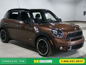 2013 Mini Cooper S ALL4 A/C CUIR TOIT MAGS BLUETOOTH
