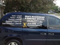 DECKS,FENCES,ROOFING,DRYWALL,FLOORING AND MORE !!!!!