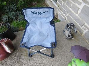 chaise de camping pliante pour enfant