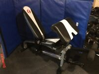 Strength Trainer Incline Decline Flat Bench with Preacher