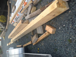 Solid Pine Beams and Pine T&G Boards