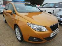 2011 11 SEAT IBIZA 1.4 CHILL 5D 85 BHP ALLOYS ELECTRIC WINDOWS,COMPLETE WITH SER
