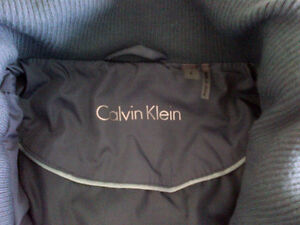 Quilted Jacket - Calvin Klein - Like New Peterborough Peterborough Area image 3