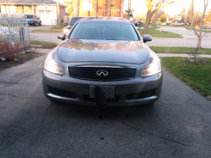 Clean 2007 Infiniti G35x fully loaded with navigation back upcam