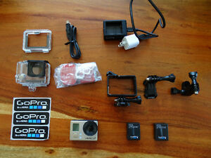 GOPRO HERO3+ with 2 batteries, and TheFrame