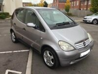 2001 Mercedes Benz A170 CDI Avantgarde MOT'd Cheap Turbo Diesel A Class Ideal Export C E 5 3 Series
