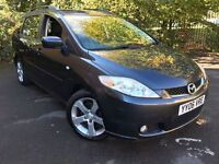 2006 Mazda 5 Sport D 2.0 BHP140.8 Grey Manual Diesel 7Seater Full Service History 1FKeeper 2Keys MOT