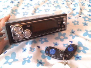 JVC KD-SX990 CD Receiver with AUX, Remote,  MP3/WMA Support