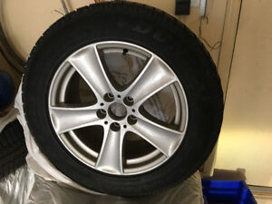 BMW Rims for X-5 SUV - Dunlop 255/55R 18 London Ontario image 1