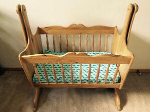 Hand-Made Cradle