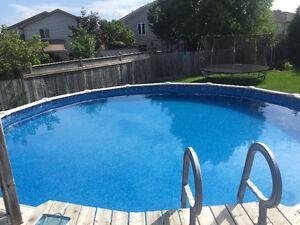 """27"""" round pool London Ontario image 4"""