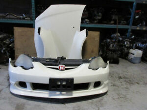02 04 ACURA RSX K20A TYPE R HID FRONT NOSE CUT CONVERSION JDM