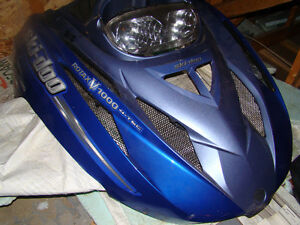 cabe skidoo Légend touring2002, 2003,2004,2005