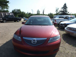2005 Mazda M6 (Parts Only)