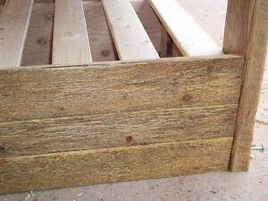Reclaimed Wood Platform Beds