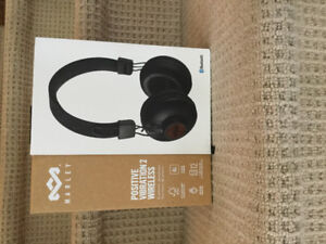 BNIB- House of Marley Positive Vibration 2 Wireless Headphones